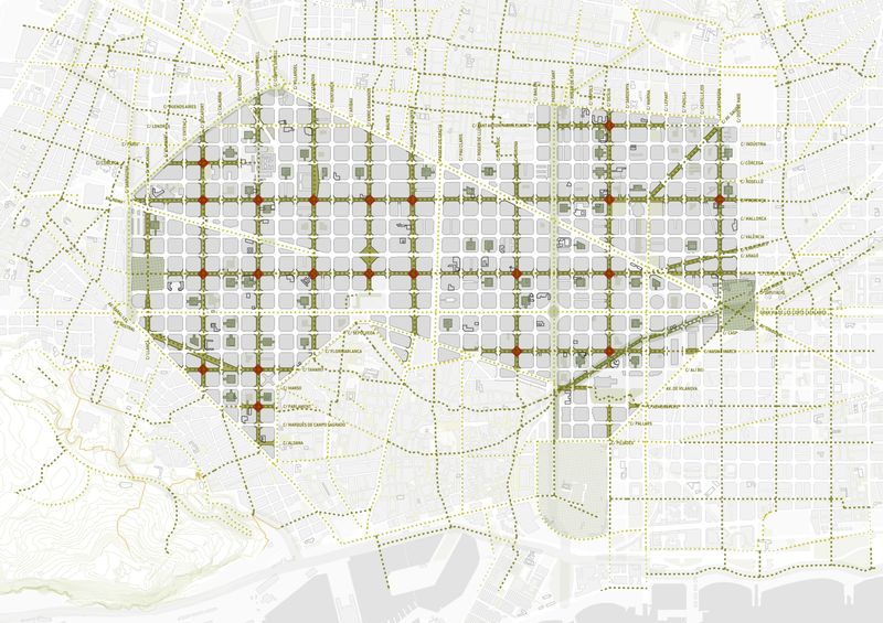 relates to Barcelona Will Supersize its Car-Free 'Superblocks'