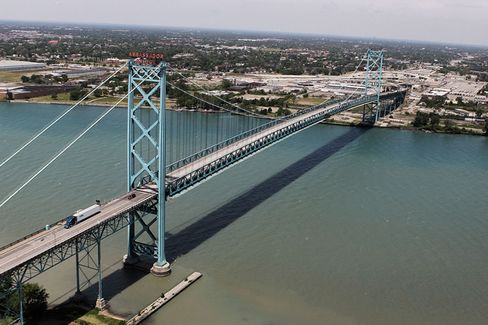 A Double Crossing From Canada to Detroit?