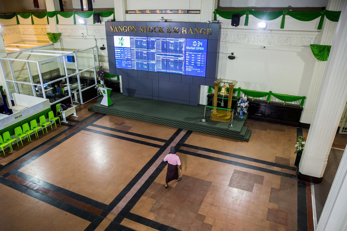 Myanmar Prepares to Let Foreigners Trade Local Stocks From March