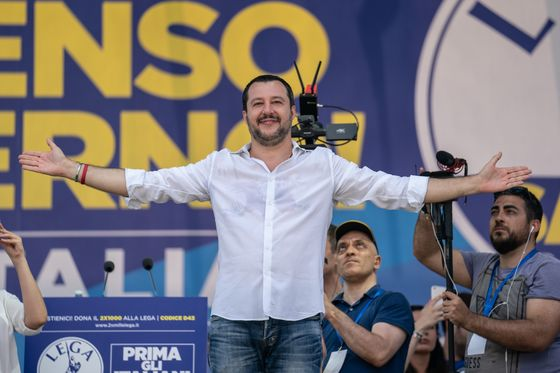Salvini Grasps Whip Hand in Italy and Sets Sights on Top Job