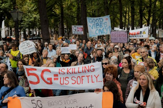 Health Scares Slow the Rollout of 5G Cell Towers in Europe