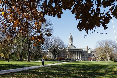 Penn State Gets Accreditation Warning After Child Abuse Scandal