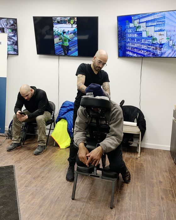 Developer Bid to Woo Hard Hats Includes Free Haircuts, Massages