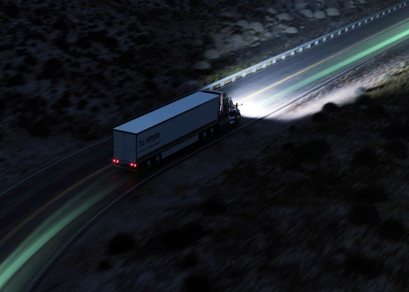 relates to The Race to Build Self-Driving Trucks Has Four Horses and Three Jockeys