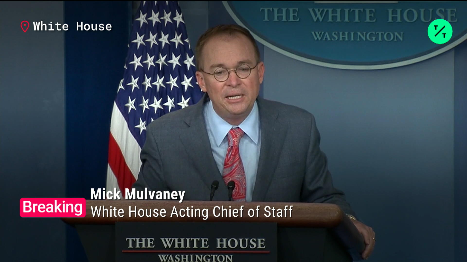 Mulvaney: 'Get Over' Political Influence in Foreign Policy