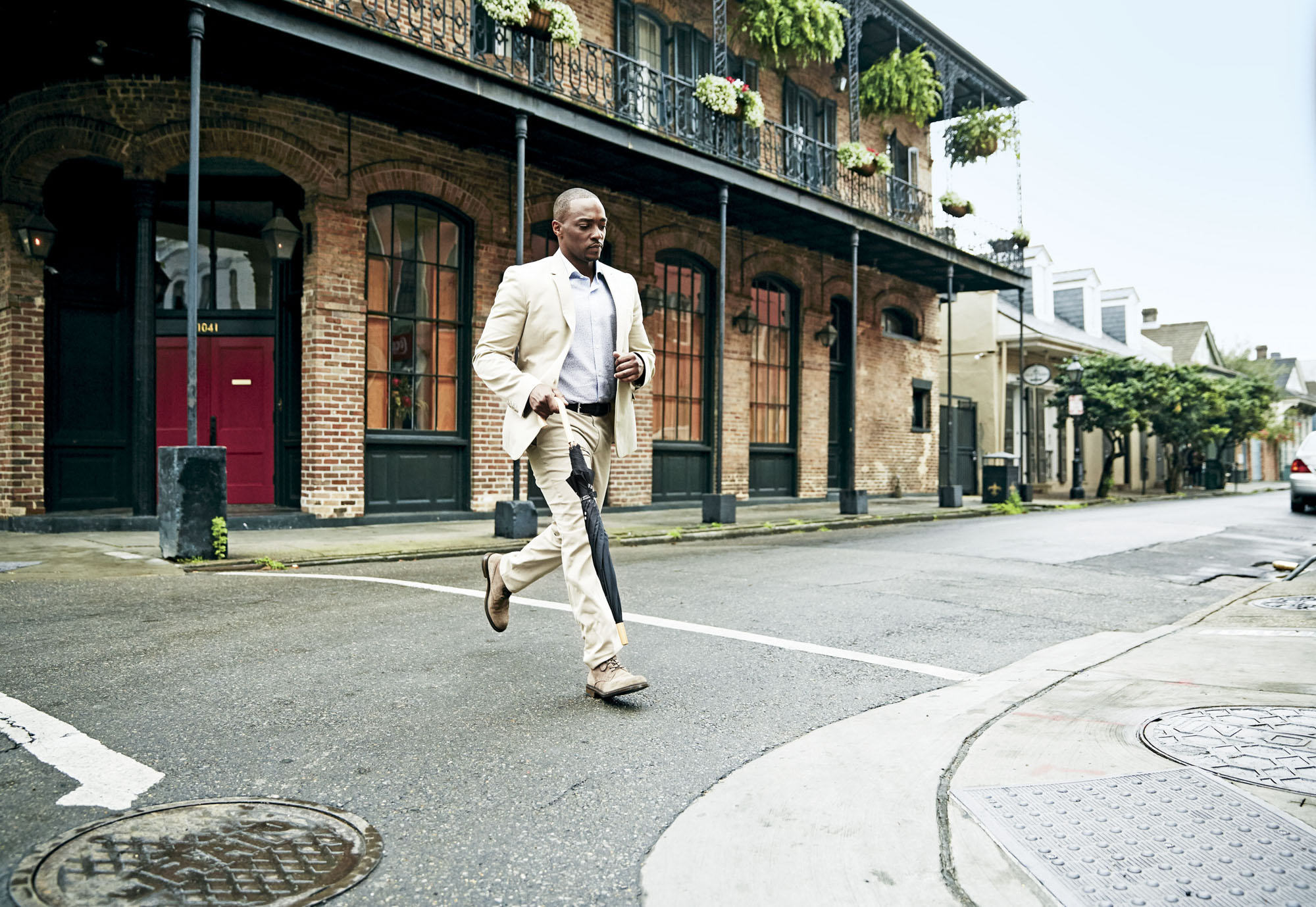 Anthony Mackie shows us his New Orleans