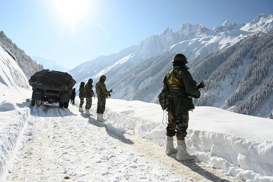 India Shifts50,000 Troops to China Border in Historic Move