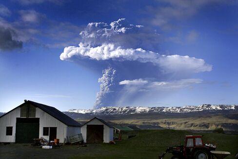 Grimsvotn Eruption in 2011