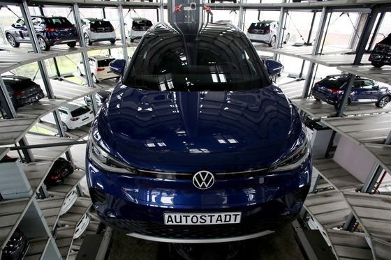 VW's EV Sales Target Suggests Tesla Gap Could Close This Year