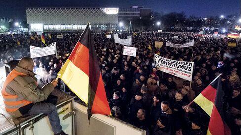 Demonstrations in Dresden