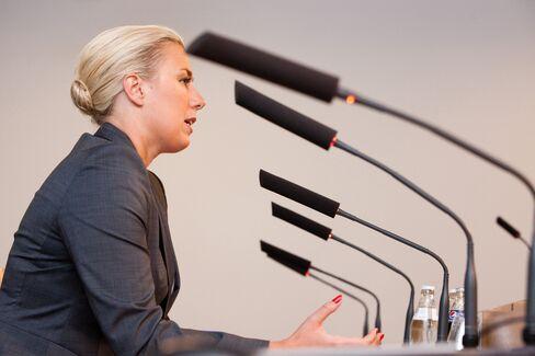 Finland's Finance Minister Jutta Urpilainen