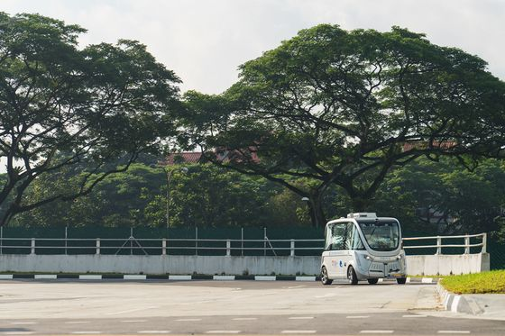Singapore Built a Dedicated Town for Self-Driving Buses