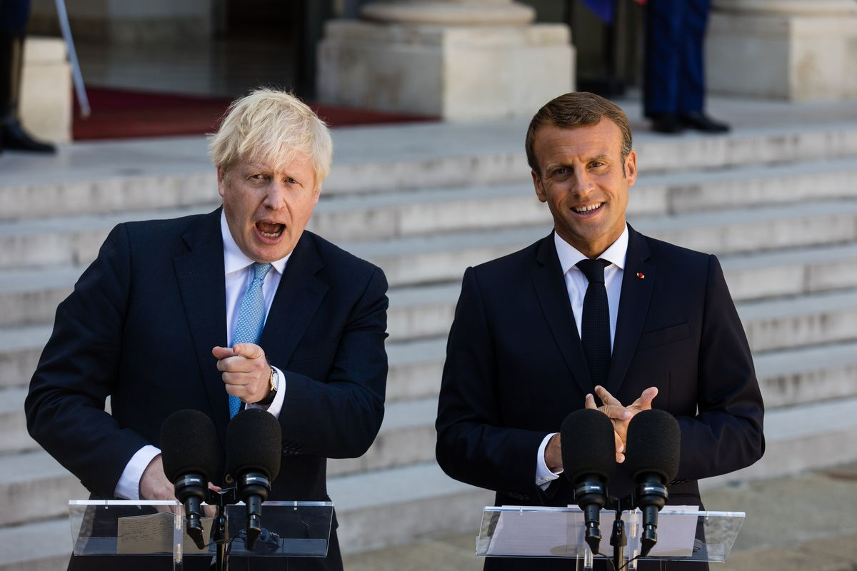 Emmanuel Macron Can Play Brexit Poker Too