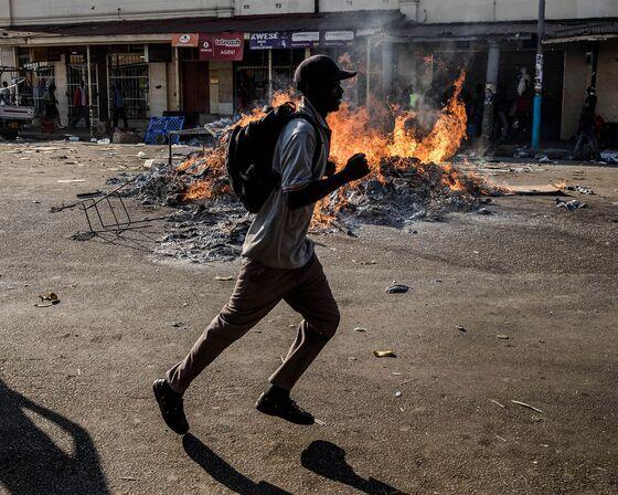 Mnangagwa Wins Zimbabwe's Presidency After Deadly Protests