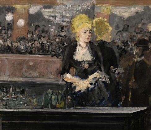 Édouard Manet, Le bar aux Folies-Bergère, 1881