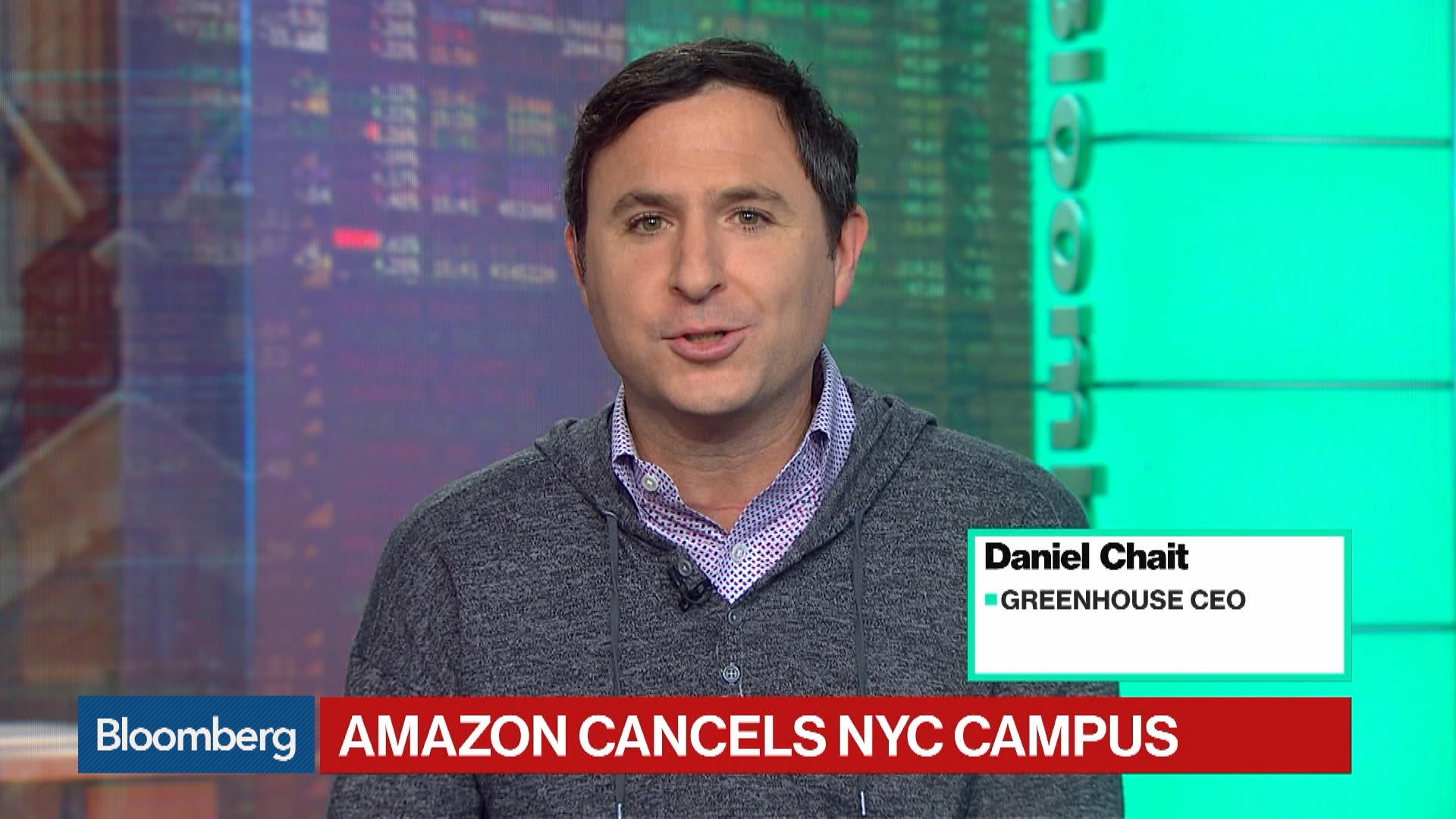 Greenhouse CEO Hopes Amazon's HQ2 Decision Isn't the Start of a Trend
