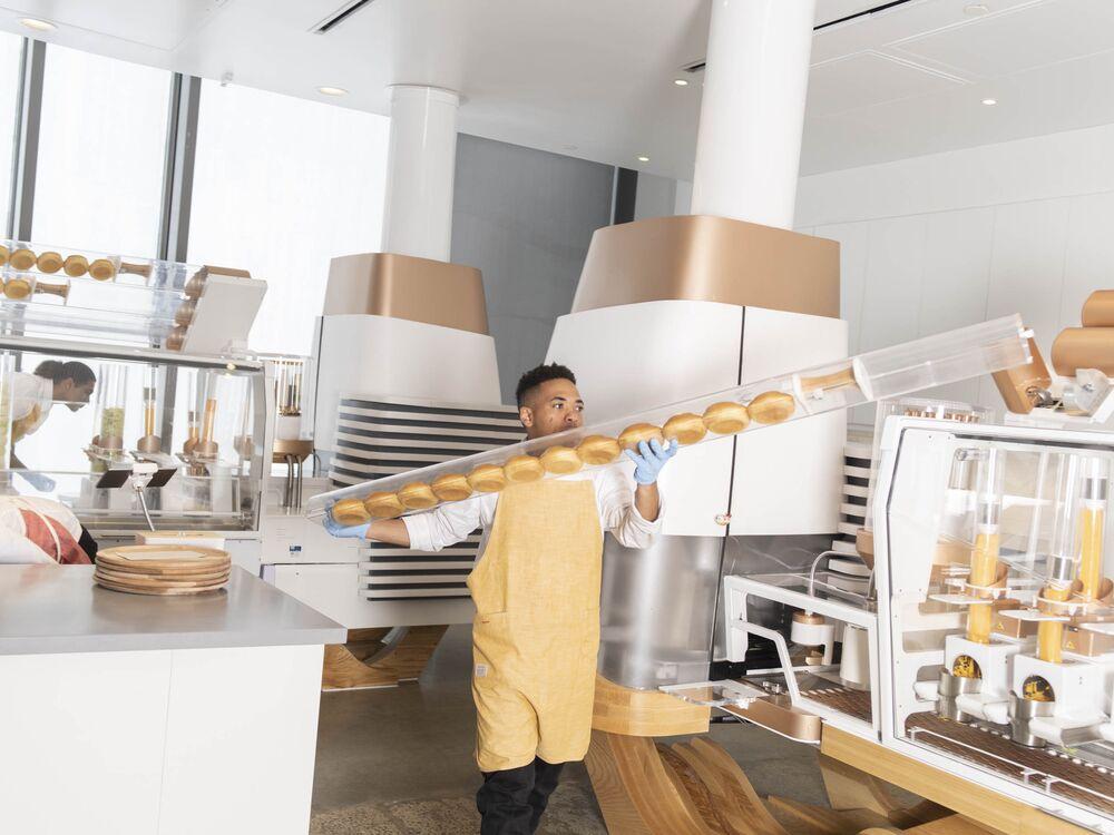 burger-making robot