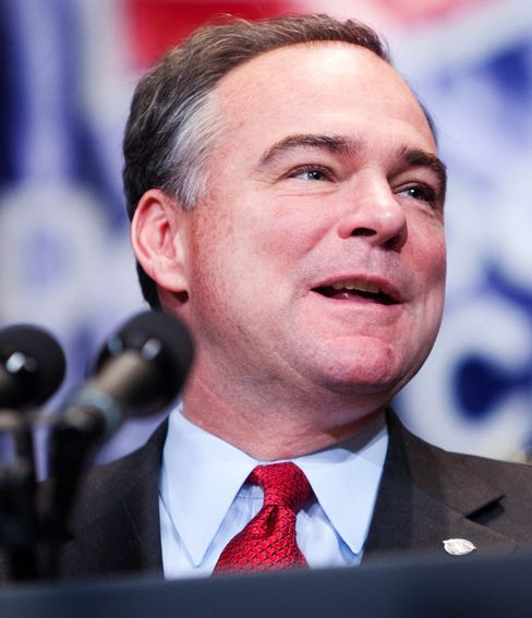 Democratic National Committee Chairman Tim Kaine