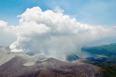 Shindake Volcano