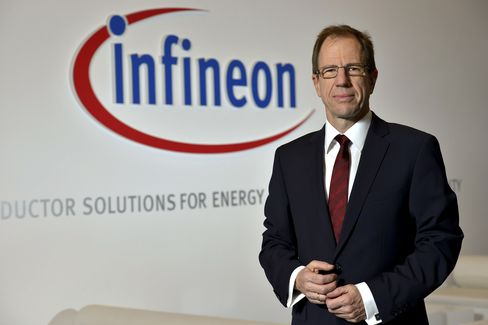 Infineon Chief Executive Officer Reinhard Ploss