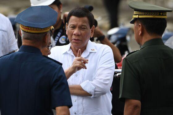 Duterte Blames Trump forSoaring Consumer Prices