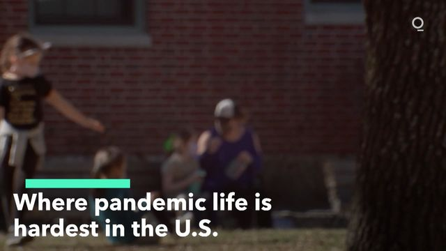 Where Pandemic Life Is Hardest in U.S.