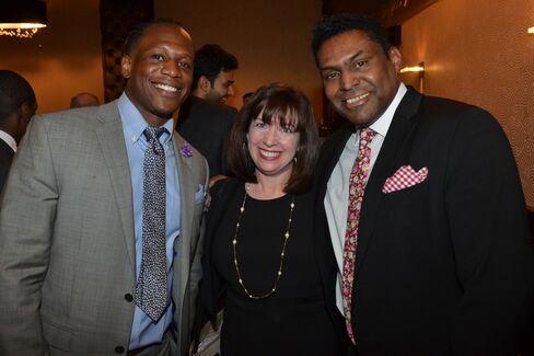Jeremie Knight, Terri Sorensen and Jerome Grant