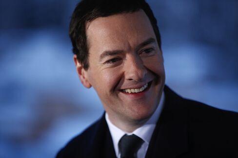 George Osborne in Davos.