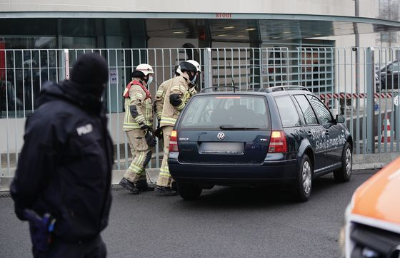 Car Hits Gates of Merkel's Berlin Office, Causes 'Minor Damage'