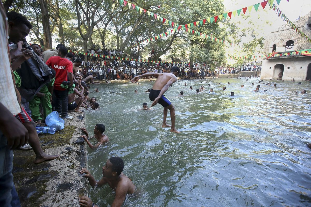 Epiphany Celebrated In Ethiopia