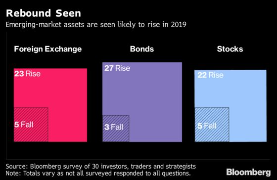 Brazil, Indonesia Expected to Lead Emerging-Market Comeback in 2019