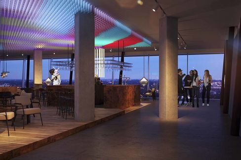 A dam tower noord amsterdam 39 s new hotel bar club for Interieur stage amsterdam