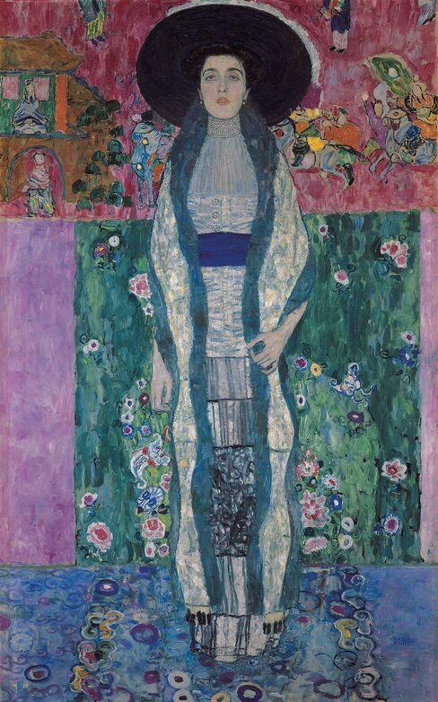 クリムト作「アデーレ・ブロッホ=バウアーの肖像II」