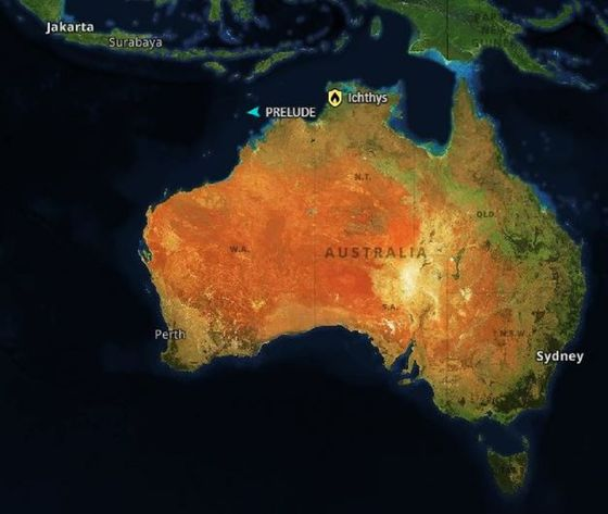 Shell's Up Next, And Last, in $200 Billion Australia LNG Bonanza