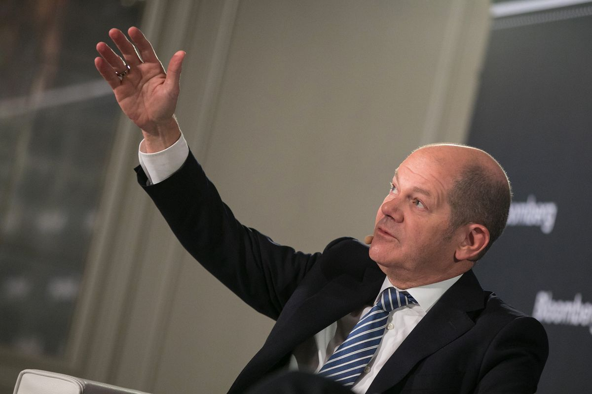 Germany's Scholz Rejects Calls to Boost EU's Post-Brexit Budget