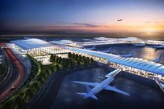 Kansas City Joins U.S. Airport Boom With $1.5 Billion Renovation