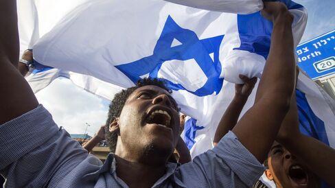 Ethiopian Israelis Demonstrate