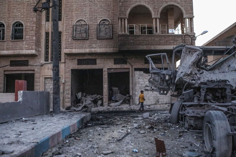 Syrian regime attacks in Idlib