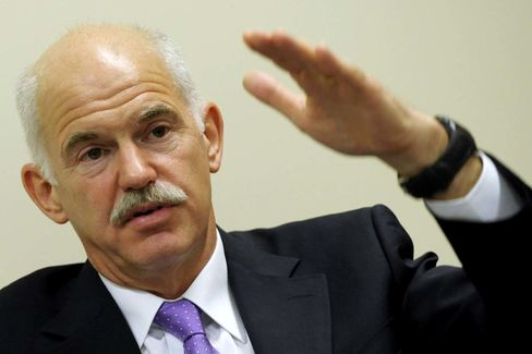 George Papandreou, Greece's Prime Minister