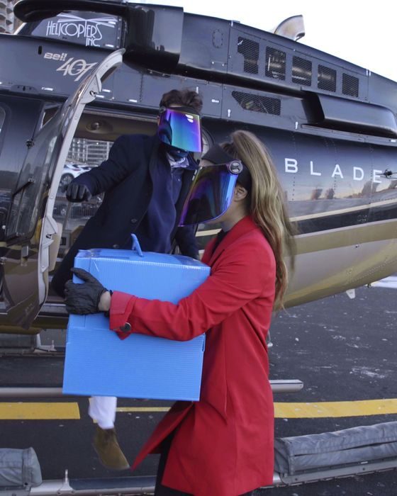 Helicopter Service Blade Doubles Down on Transporting Organs