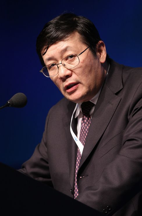 China Investment Corp. Chairman Lou Jiwei