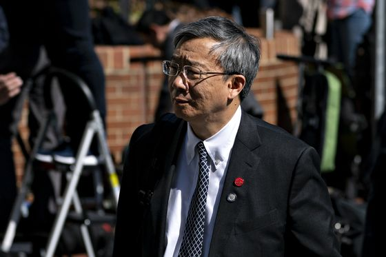 PBOC Governor Yi Says Yuan Level 'Appropriate' After Weakening