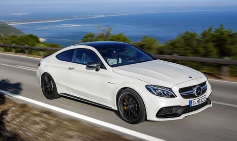 The Mercedes AMG C63 Coupe is a luxury sedan in sporty disguise.