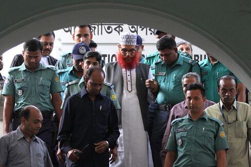 Jamaat-e-Islami leader Delwar Hossain Sayedee