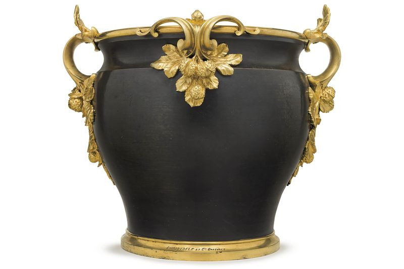 A large 19th century French Jardiniere, estimated at $5,000 to $8,000 at  Christie's. - Now Is The Best Time In Decades To Buy Fancy Antique Furniture