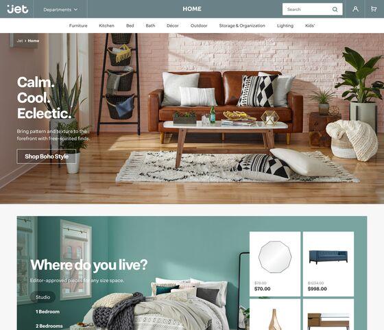 Walmart's Jet.com Revamps Site to Narrow Focus on Urban Shoppers