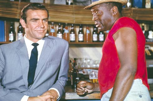 Red Stripe beer makes an appearance in the first Bond movie, Dr. No, in 1962.