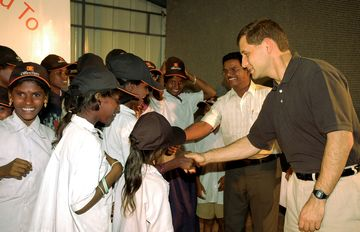 A 2006 visit to an orphanage in Chennai, India