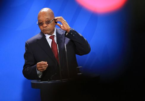 S Africa's ruling party faces biggest election setback