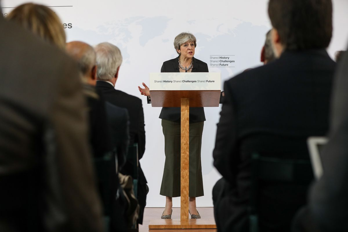 May Fleshes Out Brexit Blueprint in Bid to Revive Negotiations